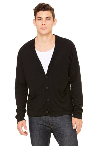 Canvas - Gilet -  Homme Multicolore - Solid Black Triblend