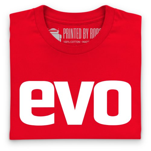 Evo Logo T-shirt, Uomo Rosso
