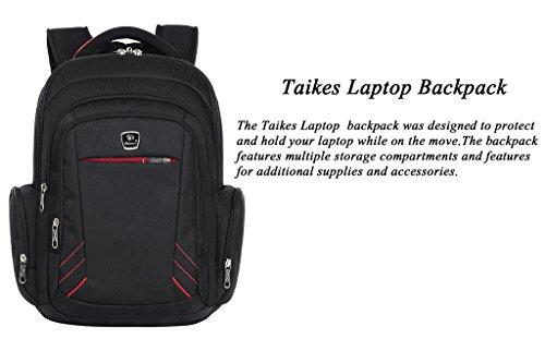 Binlion Taikes Laptop Backpack Up To 17-Inch Black28