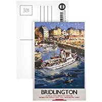 Robin Hood's Bay Yorkshire by LNER - Postcard (Pack of 8) - Highest Quality