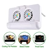 Kefaith Réfrigérateur de téléphone Portable 3 en 1 avec Double Ventilateur,...