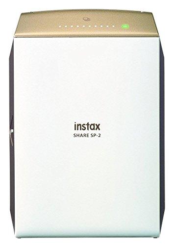 Fujifilm Instax SHARE SP-2 Stampante Istantanea per Smartphone e Fotocamera, Oro