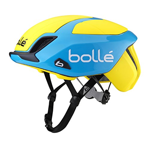 Bolle The One Road Premium Helmet yellow/blue Kopfumfang 58-62 cm 2016 Rennradhelm