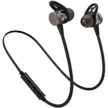 auriculares in ear headphone bluetooth inalambricos deportivos Sannysis auriculares metal con cable, graves profundos para