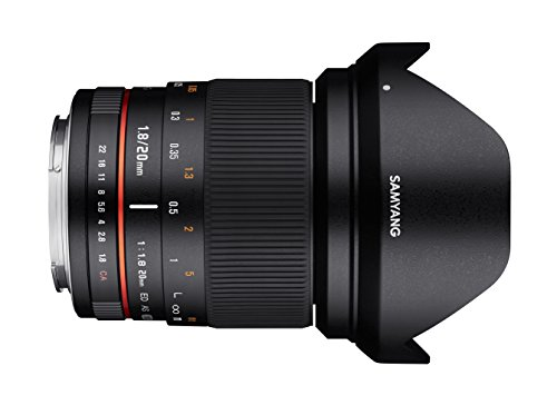 Cheapest Samyang DSLR photo lens on Amazon