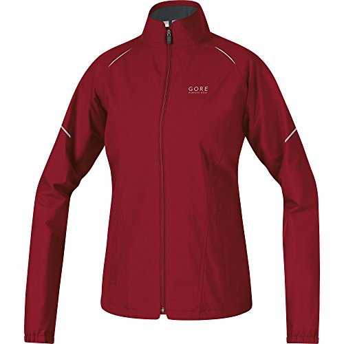 Gore Running Wear Essential Gore-Tex Active Lady-Giacca da donna Donna - Verde (Verde (ruby red)) - 38