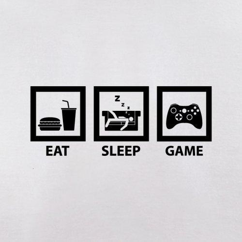 Eat Sleep Game - Herren T-Shirt - 13 Farben Weiß