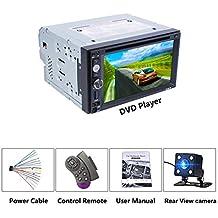 ... radio cd segunda mano. Universal DC12V Full HD1080P 6.2 pulgadas 2DIN Coche Multimedia CD Reproductor de DVD Control del volante