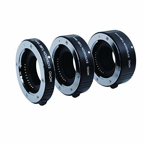 Movo photo AF macro tubo di prolunga set per Fujifilm X Mount con 10 16 e 21.