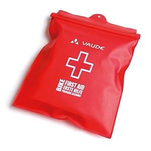 VAUDE Erste Hilfe First Aid Kit Bike Essential Waterproof, rot, one size