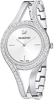 Swarovski Eternal Watch, Metal bracelet, White, Stainless steel