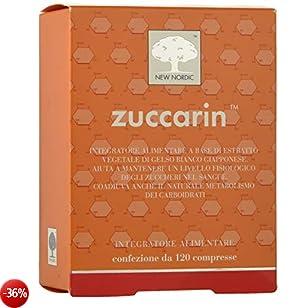 Zuccarin Integratore Alimentare per Metabolismo Zuccheri e Carboidrati - 120 Compresse