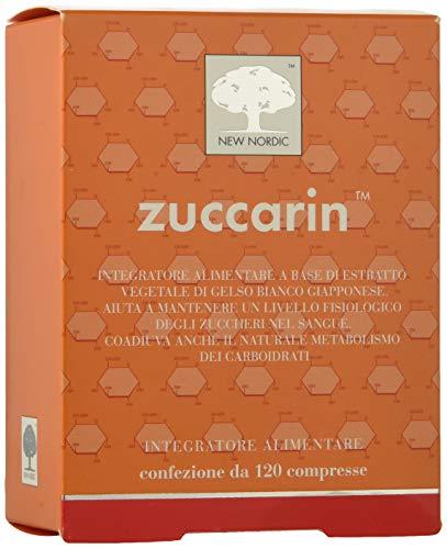 Zuccarin Integratore Alimentare per Metabolismo Zuccheri e Carboidrati 120 Compresse