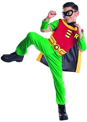 Rubie's - Costume da Robin Bambino, M, 5-7 anni