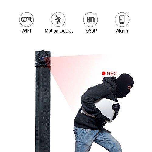 Mini Kamera, 1080P HD WLAN IP Klein Kamera Wireless Spionagekamera Sicherheitskamera Innen Heim Überwachungskamera Die Bewegungserkennung Alarm Nanny Baby Überwachung für Smartphone/PC