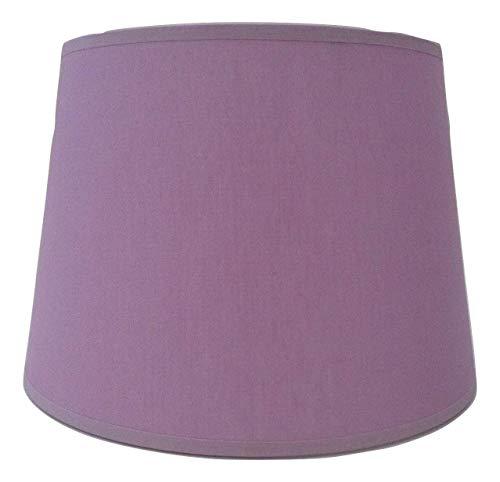 25,4 cm Empire Lilas Tissu de coton Abat-jour lumière Abat-jour Table fait à la main.