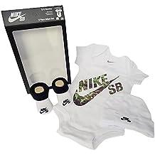 Nike SB 3piezas bebé niños blanco 0/6Meses
