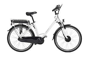 EASYBIKE Easycity M01-D7 Vélo Électrique Mixte Adulte, Blanc