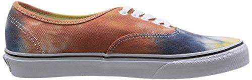 Vans U Authentic, Baskets Mode Mixte Adulte Multicolore (Navy/Burnt Orange)