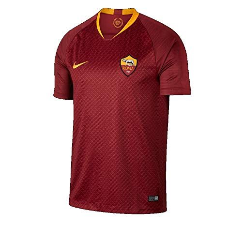 870c4a9e4d1544 Nike Breathe A.S. Roma Home Stadium T-Shirt, Hombre, Team Red/University