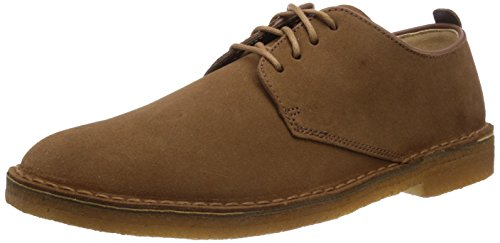 Clarks Originals - Desert London, Scarpe con lacci Derby da uomo, marron (cola suede), 42