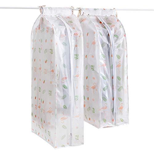 Grea stereo tasche appese trasparenti casa cappotto copertura antipolvere guardaroba vestiti sacchetto di polvere-1,60 * 30 * 90 cm
