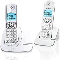 Alcatel F390 Duo Téléphone sans fil DECT Gris