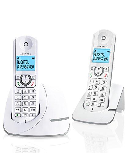 Alcatel F390Duo schnurloses Telefon DECT Grau