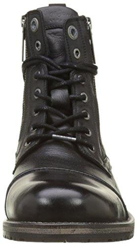 Pepe Jeans London Melting Zipper New, Stivali Classici Uomo Nero (Black)
