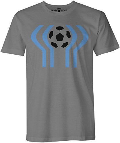 Argentina 78 - Fussball-Weltmeisterschaft - Herren T Shirt Kohlengrau