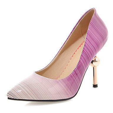 amp; Schwarz Shoes schuhe pfirsich Amp Stiletto 5 Abend Party Cn40 Heels Heel Zormey Us8 5 kleid lila Uk6 Eu39 Women's wPSy05qxW4