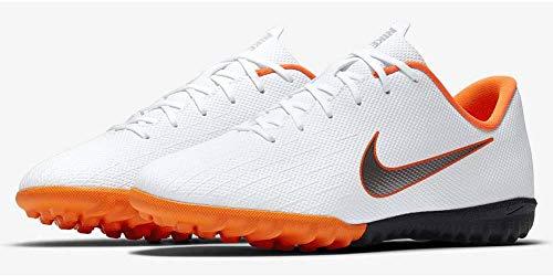 Nike Unisex-Erwachsene Mercurial Vapor 12 Academy GS TF JR AH Fußballschuhe, Mehrfarbig (Indigo 001), 38 EU