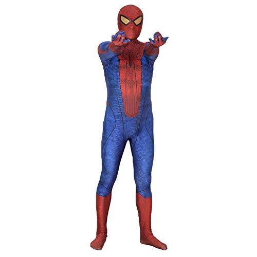 Spider-Man Kostüm Halloween Adult Kostüm Film Requisiten Siamese Strumpfhosen Party Digitaldruck Lycra Superhero ()