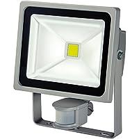 Brennenstuhl Chip LED-Leuchte 30W IP44 mit Bewegungsmelder Outdoor, 1171250302