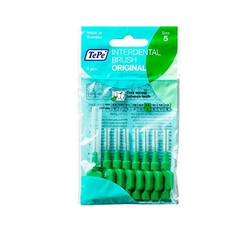 TePe Interdentalbürsten 0,8 mm grün, 3er Vorteilspack (3x 8 Stück)