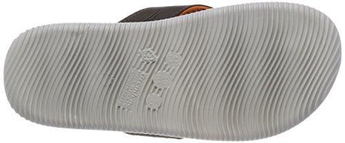 Cartago Herren Barcelona Thong AD Zehentrenner Mehrfarbig (grey/brown/Orange)