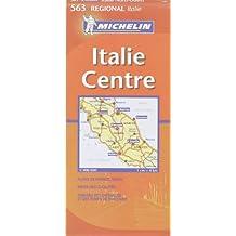 Carte RGIONAL Italie Centre