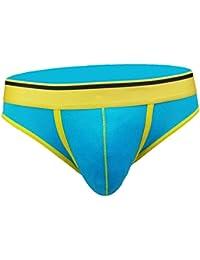 5eb7374b3e IPOTCH Slip in Cotone Traspirante da Uomo Perizoma aVita Bassa Senza Cucire  Slip Triangolare Bikini Boxer