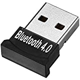tinxi® Bluetooth 4.0 USB Dongle Adaptador V4.0 Mini palillo de modo dual de alta velocidad Plug and Play