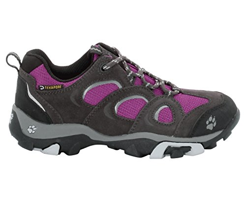 Jack Wolfskin GIRLS MTN ATTACK LOW TEXAPORE Mädchen Trekking- & Wanderhalbschuhe mallow purple