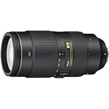 Nikon AF-S NIKKOR 80-400mm f/4.5-5.6G ED VR - Objetivo para nikon (distancia focal 80-400mm, apertura f/4,5-5,6, zoom óptico 5x, estabilizador de imagen) color negro