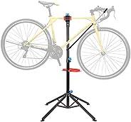 Femor Supporto Cavalletto per Bicicletta, 115-170 cm Supporto da Montaggio per Biciclette, Cavalletto per Ripa