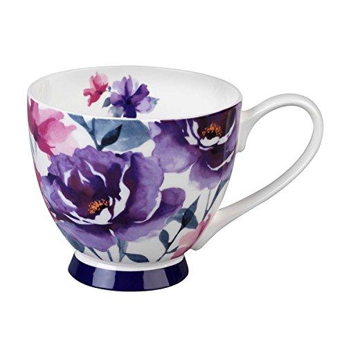Portobello CM04787 Tasse Sandringham, Porcelaine, Adora, 10.3x7.2x10 cm