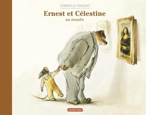 Ernest et celestine au musee por Gabrielle Vincent