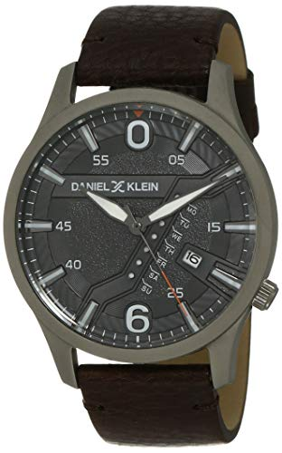 Daniel Klein Analog Grey Dial Men's Watch-DK12116-4