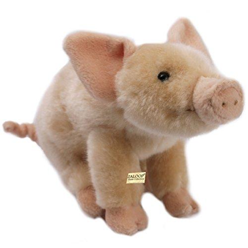 Schweinchen ca.22 cm Plüschtier Kuscheltier Stofftier Schwein 126 von Zaloop