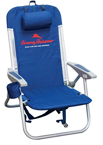 Tommy Bahama Netzsaum mit Kühler Rucksack Stuhl (Rio Rucksack Stuhl)