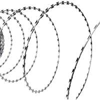 vidaXL Fil barbelé concertina 100 m
