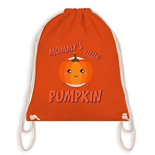 Anlässe Kinder - Mommys little Pumpkin Halloween - Unisize - Orange - WM110 - Turnbeutel & Gym Bag