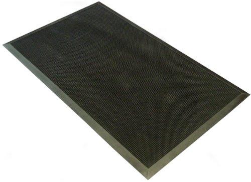 Felpudos Exteriores de goma resistente (uso exterior, 60x100cm),